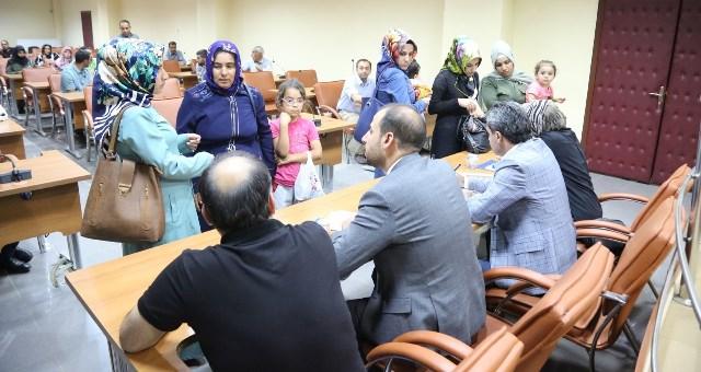 Eyyübiye belediyesi halk günü düzenledi