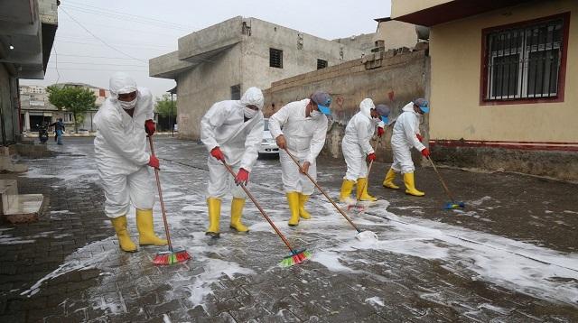 Eyyübiye Belediyesi, çalışmalarını aralıksız sürdürüyor.