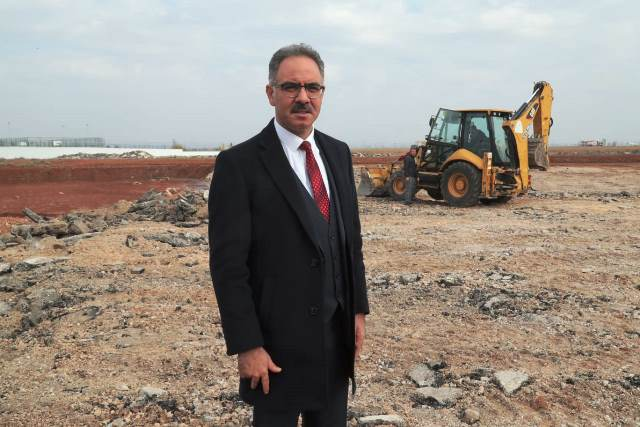 Eyyübiye Belediyesinden bir tasarruf çalışması daha.