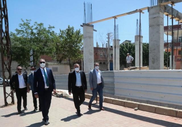 Eyyübiye'de 4 katlı gençlik merkezi yükseliyor.