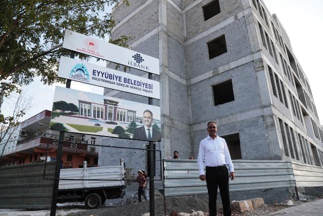 Eyyübiye'de devasa eserler bir bir yükselmeye devam ediyor.