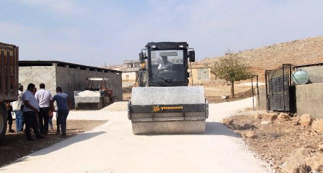 Eyyübiye'de yol yapımı devam ediyor