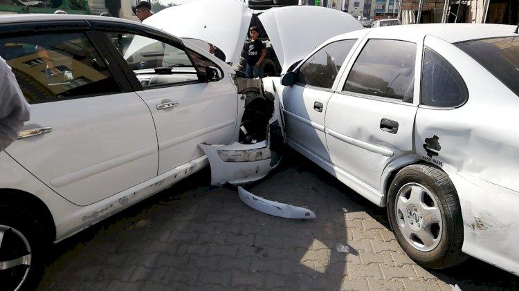 Eyyübiye'de zincirleme kaza
