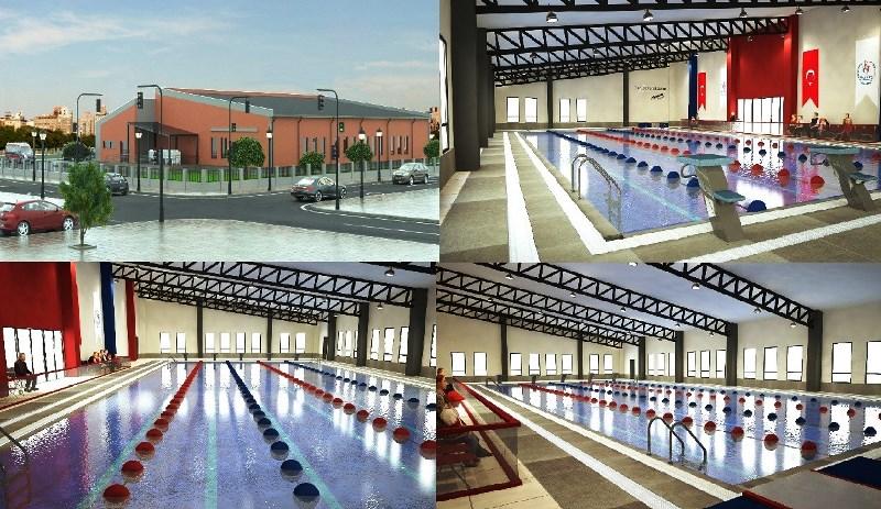 Eyyübiye'ye olimpik yüzme havuzu