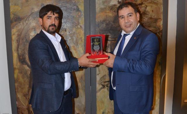 Gazeteci Abdullah Yiğit'e Ödül