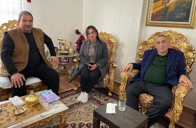 Gazetemizden Başkan Altun'a geçmiş olsun ziyareti