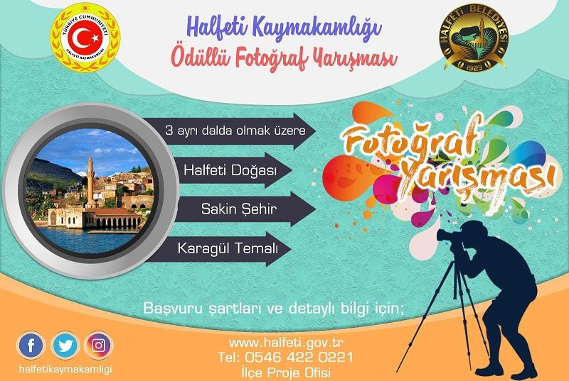 Halfeti'de ödüllü fotoğraf yarışması.