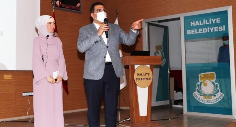 Haliliye Belediyesi, hizmet içi eğitimleri devam ediyor