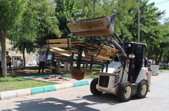 Haliliye Paşabağı'nda 4 park yenileniyor