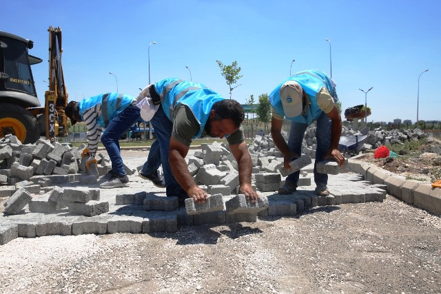Haliliye'de 4 Mahallede Üst Yapı Çalışması