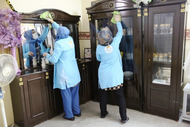 Haliliye'de 438 Aileye evde bakım hizmeti