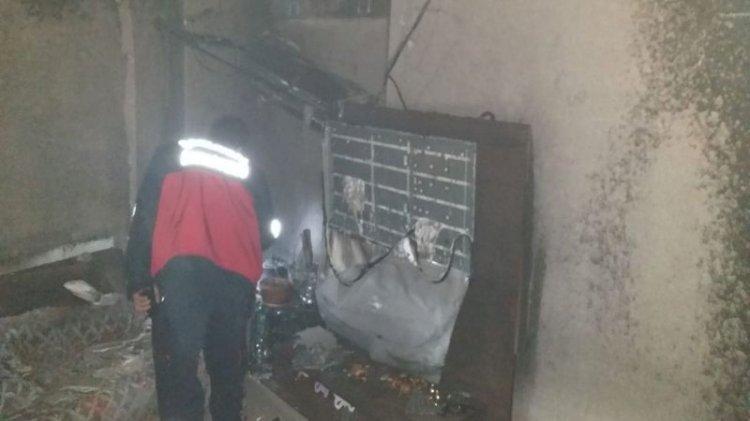 Haliliye'de çıkan yangın paniğe neden oldu!