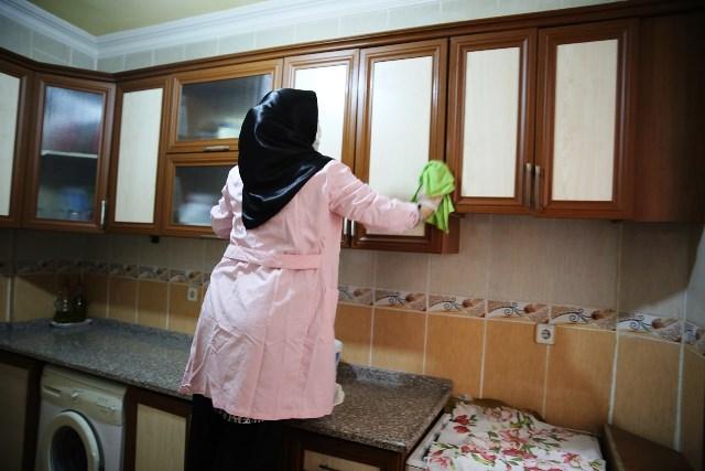 Haliliye'de 'Evde Bakım Hizmeti' Sürüyor