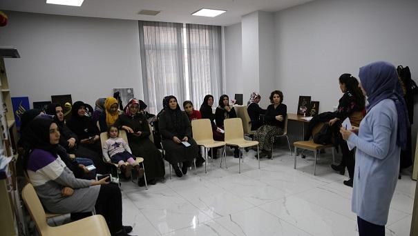 Haliliye'de kadınlara eğitim