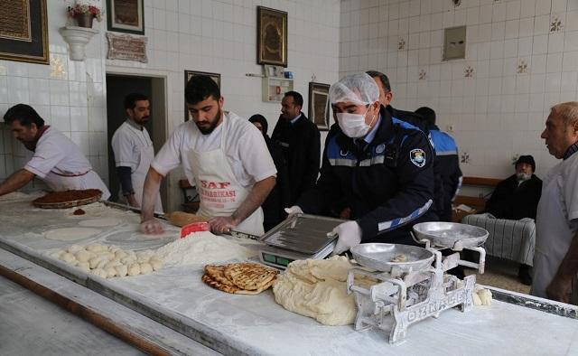 Haliliye'de Zabıta denetimleri devam ediyor