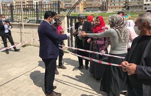 Haliliye'den aile sağlık merkezlerine maske dağıtımı