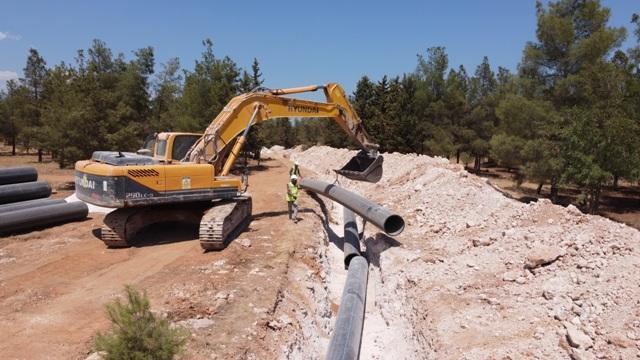 Harran ve Akçakale ilçelerinde su sorunu tarihe karışıyor