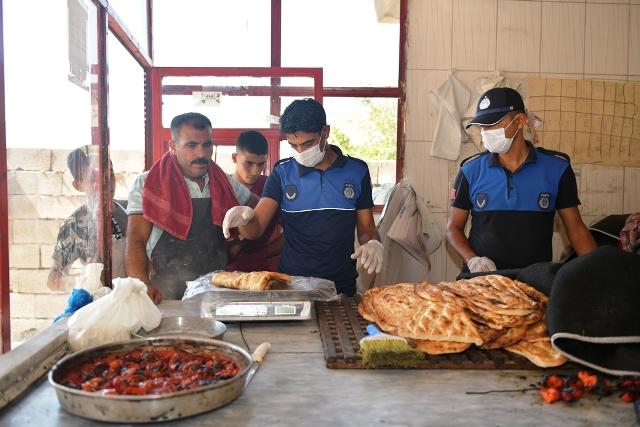 Harran'da Zabıta Ekipleri Denetimlerini Sürdürüyor