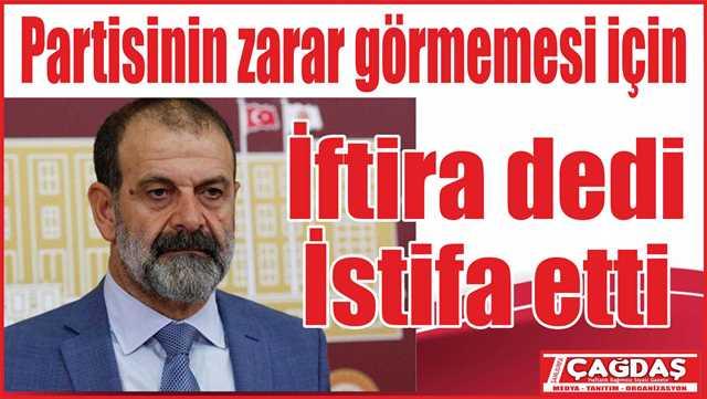 HDP'li Tuma Çelik partisinden istifa etti