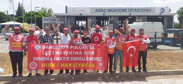 HKP'den işten atılan işçilere ziyaret