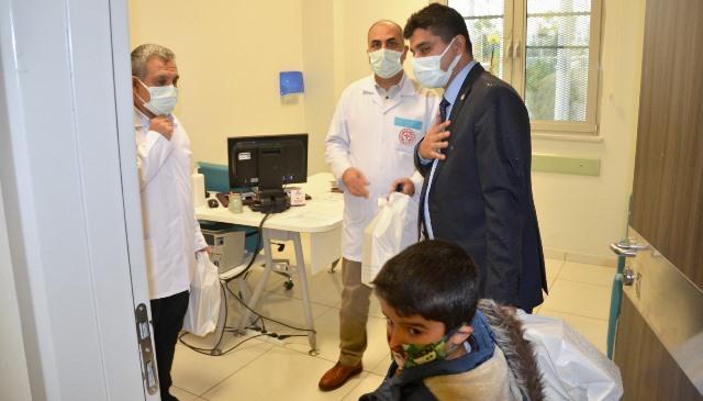 Hüseyin Kıran'dan Hastane Çalışanlarına Moral Ziyareti