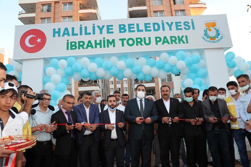 İbrahim Toru Parkının Açılışı Yapıldı