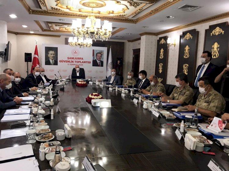 İçişleri Bakanı Soylu Urfa'da