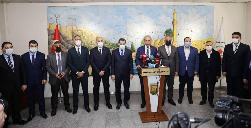 İlçe Belediye Başkanlarından Beyazgül'e destek açıklaması