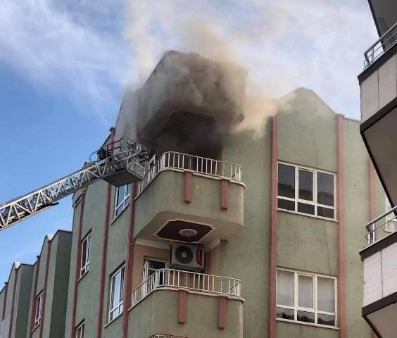 İmambakır Mahallesindeki yangın söndürüldü