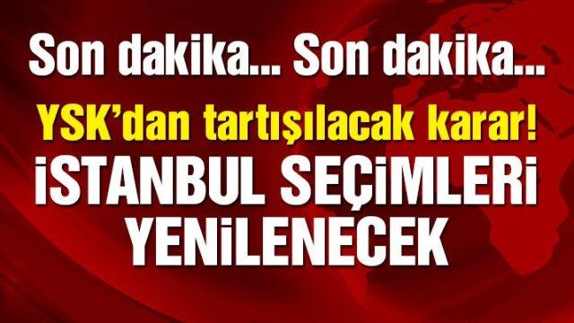 İşte İstanbul''un seçim tarihi
