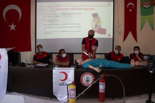 İtfaiye Personellerine Temel İlkyardım Eğitimi