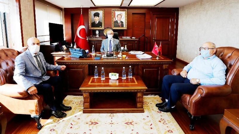 İzmir Şanlıurfa Federasyonundan Vali Köşker'e ziyaret
