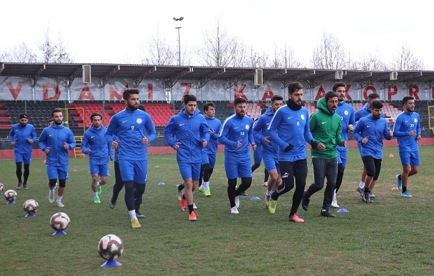 Karaköprü Belediyespor, Tokatspor maçına hazırlanıyor