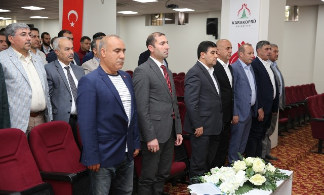 Karaköprü Belediyespor'da Mustafa Aslan güven tazeledi