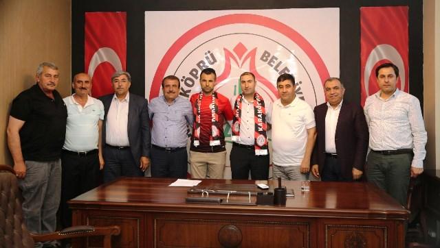 Karaköprü Belediyespor Beklerle 'Devam' dedi