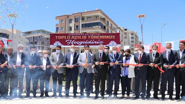 Karaköprü'de 26 Yeni Hizmet İçin Toplu Açılış Töreni Yapıldı