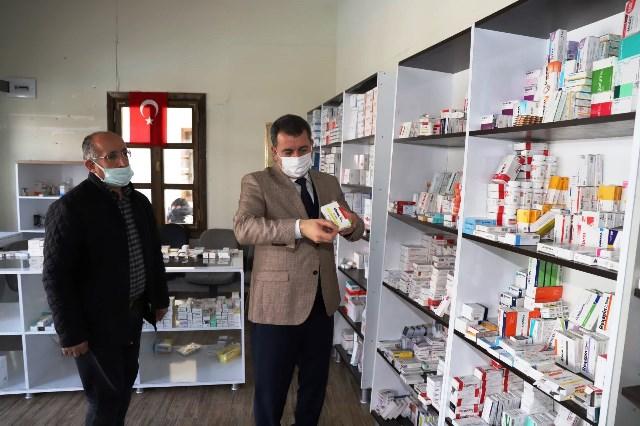 Karaköprü'de İlaç Toplama Merkezi Açıldı