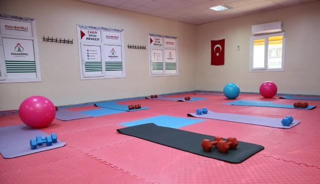 Karaköprü'de Kadınlar İçin Spor Salonu İmkanı