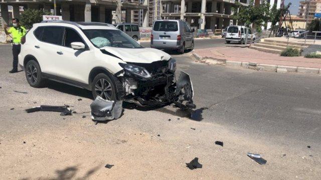 Karaköprü'de kaza 1 yaralı