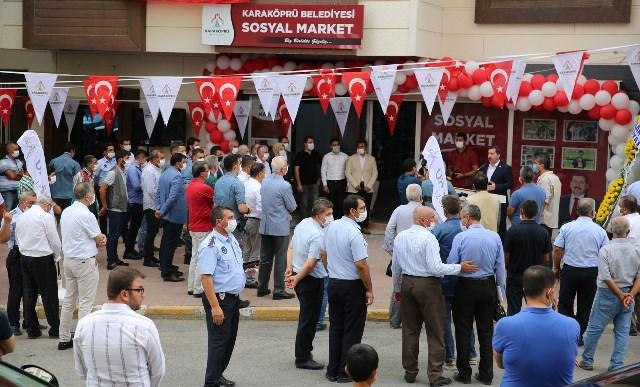 Karaköprü'de Sosyal Market Açıldı