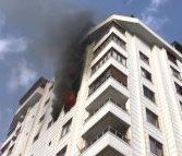 Karaköprü'de yangın 1 ölü, 1 yaralı