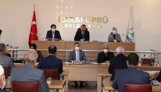 Karaköprü'de Yeni Yılın İlk Meclis Toplantısı Gerçekleşti