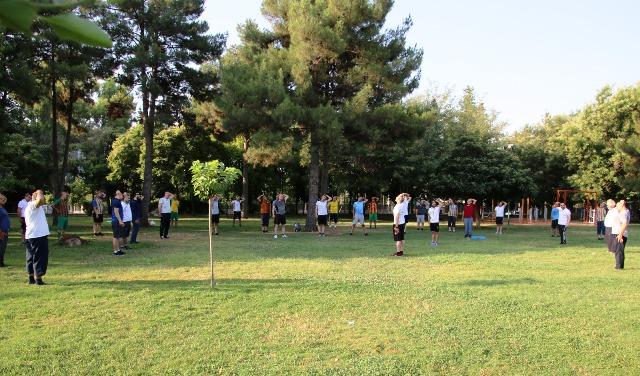 Kasaptaşı Parkındaki Spor Aletleri Ve Koşu Pisti Yenilendi