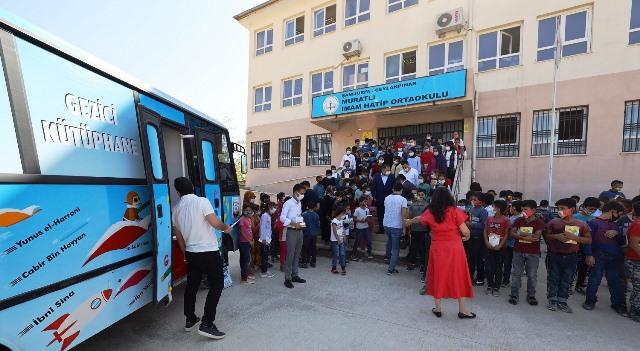 Kırsaldaki Çocuklar Büyükşehir'in Destekleriyle Okuyor