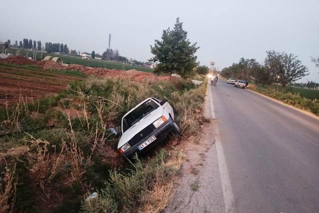 Kısas'ta trafik kazası 2 yaralı
