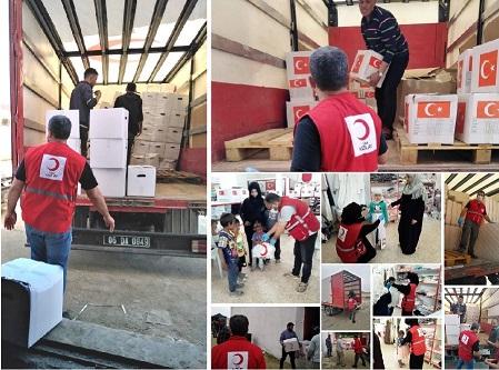 Kızılay, Barış Pınarında Ramazan Programı Yaptı