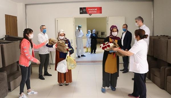 Koronavirüsü Yenen 5 Kişi Taburcu Oldu