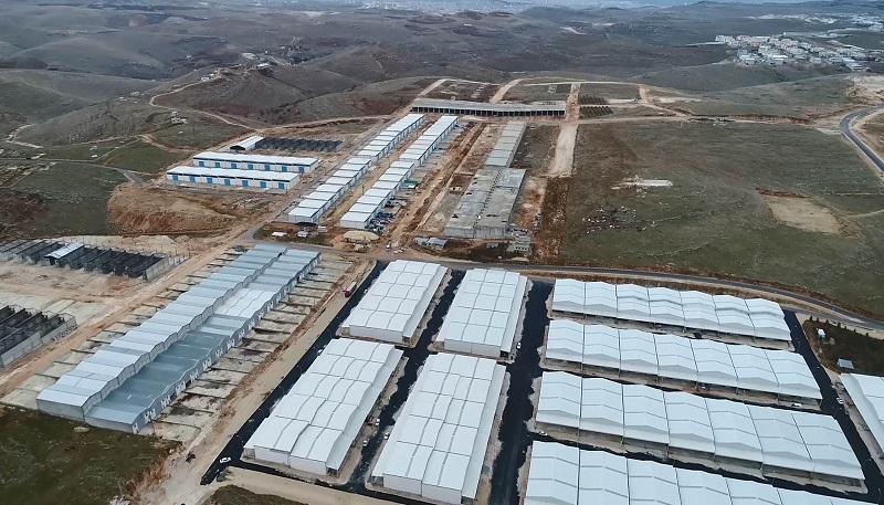 Küçük sanayi sitelerinin alt yapısı tamamlandı