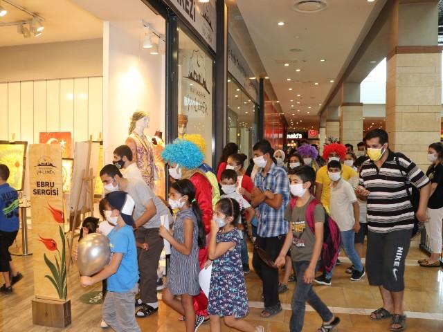 Kültür Sanat Atölyesi, 'Özel Çocukları' Misafir Etti