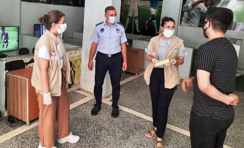 Maske Takmayan 282 Kişiye Ceza Yazıldı